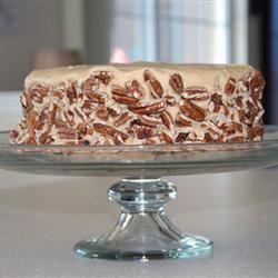 Caramel Cake with Caramel Nut Frosting Pat Dukes