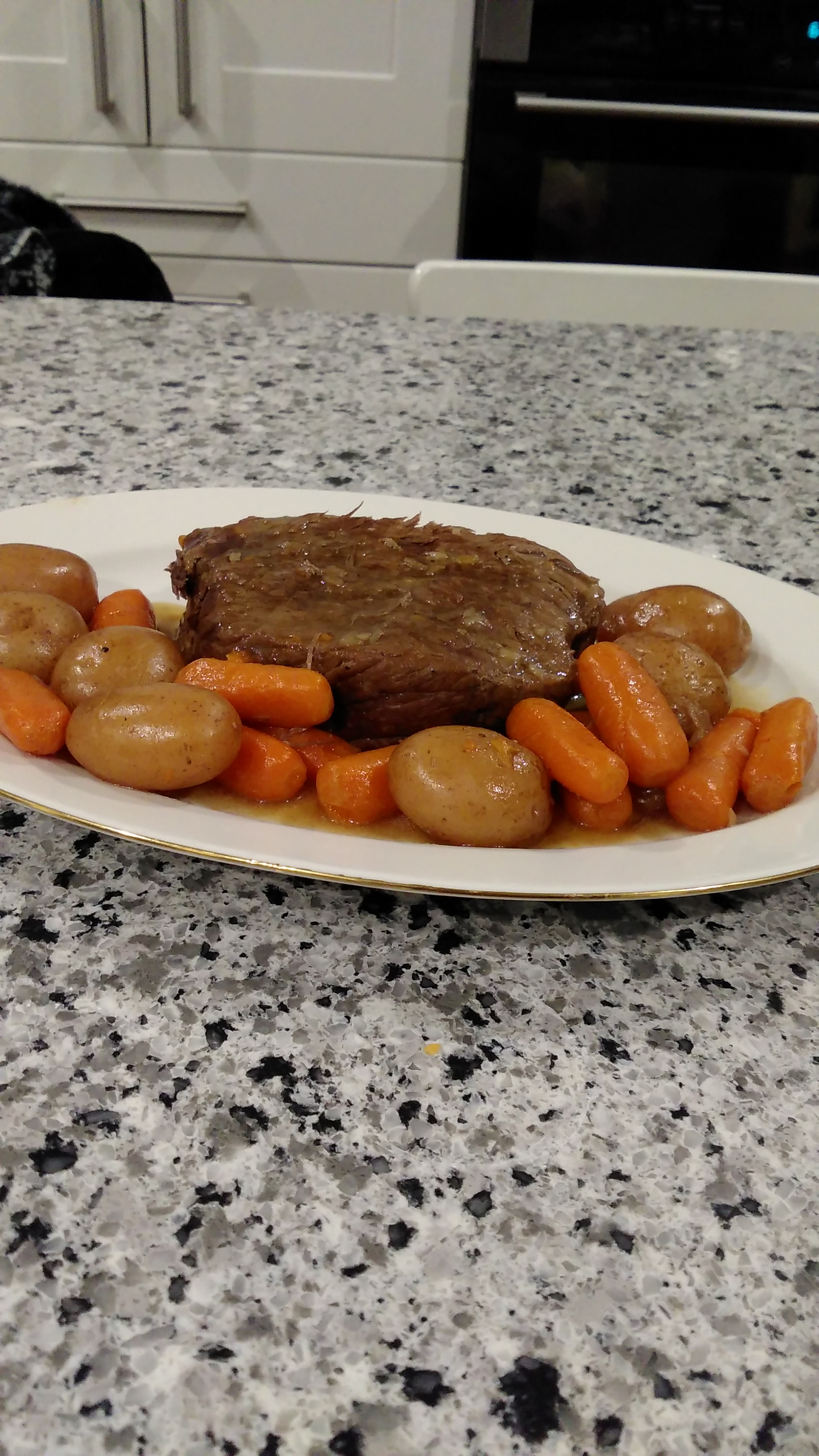 Instant Pot® Pot Roast with Potatoes and Carrots