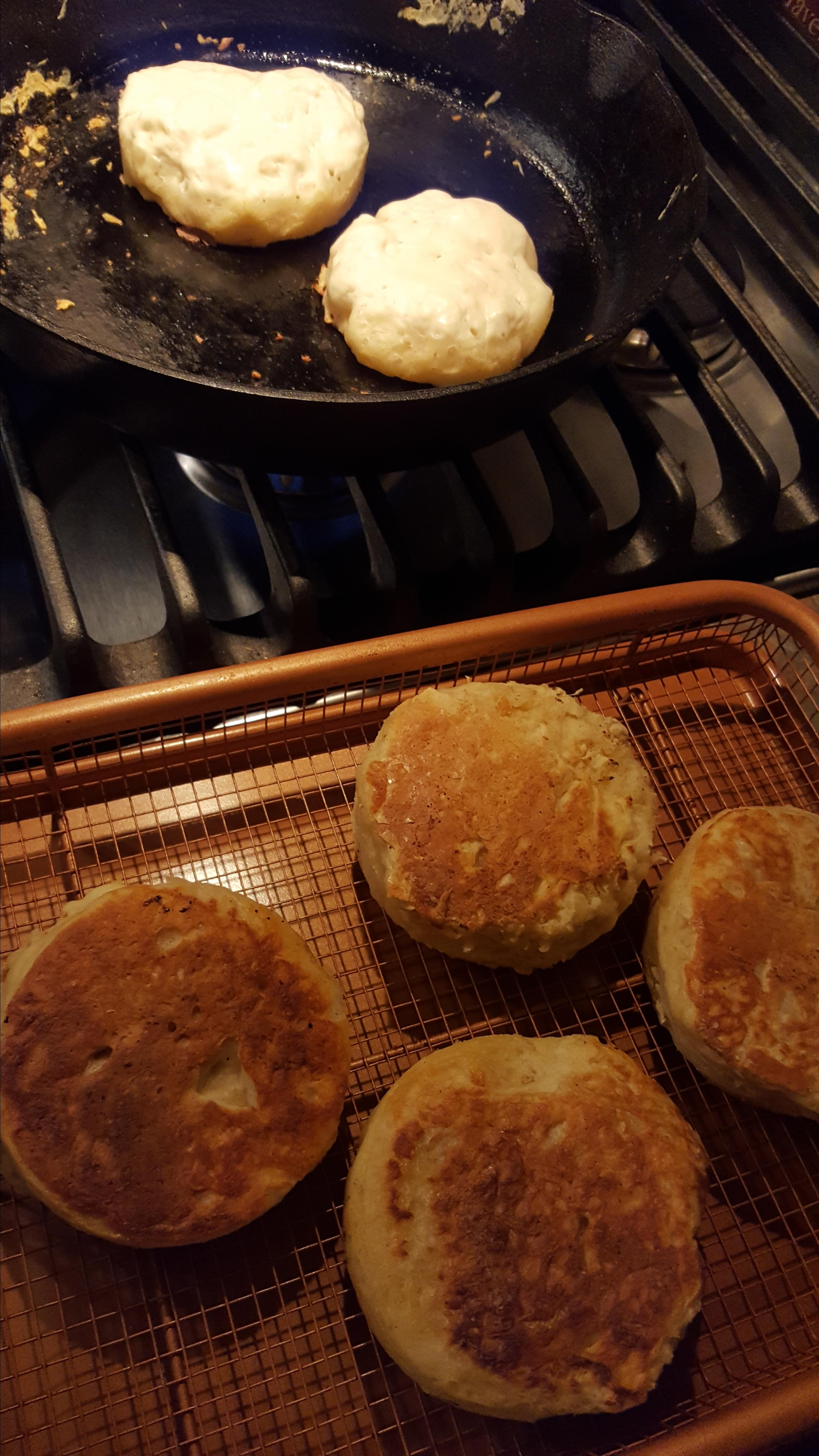Buttermilk Crumpets Lindy Lou