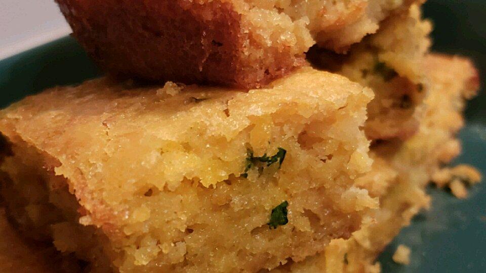 Cheesy Mexican Spoon Bread