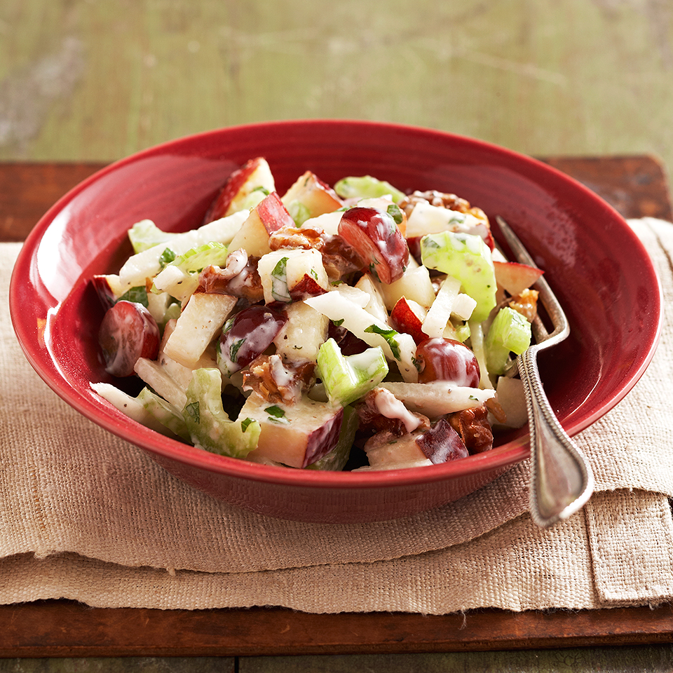Pear & Jicama Salad Diabetic Living Magazine