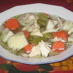 Chicken Stew 'Fricot'