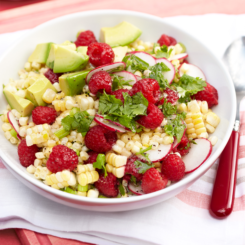 Raspberry Corn Salad Diabetic Living Magazine