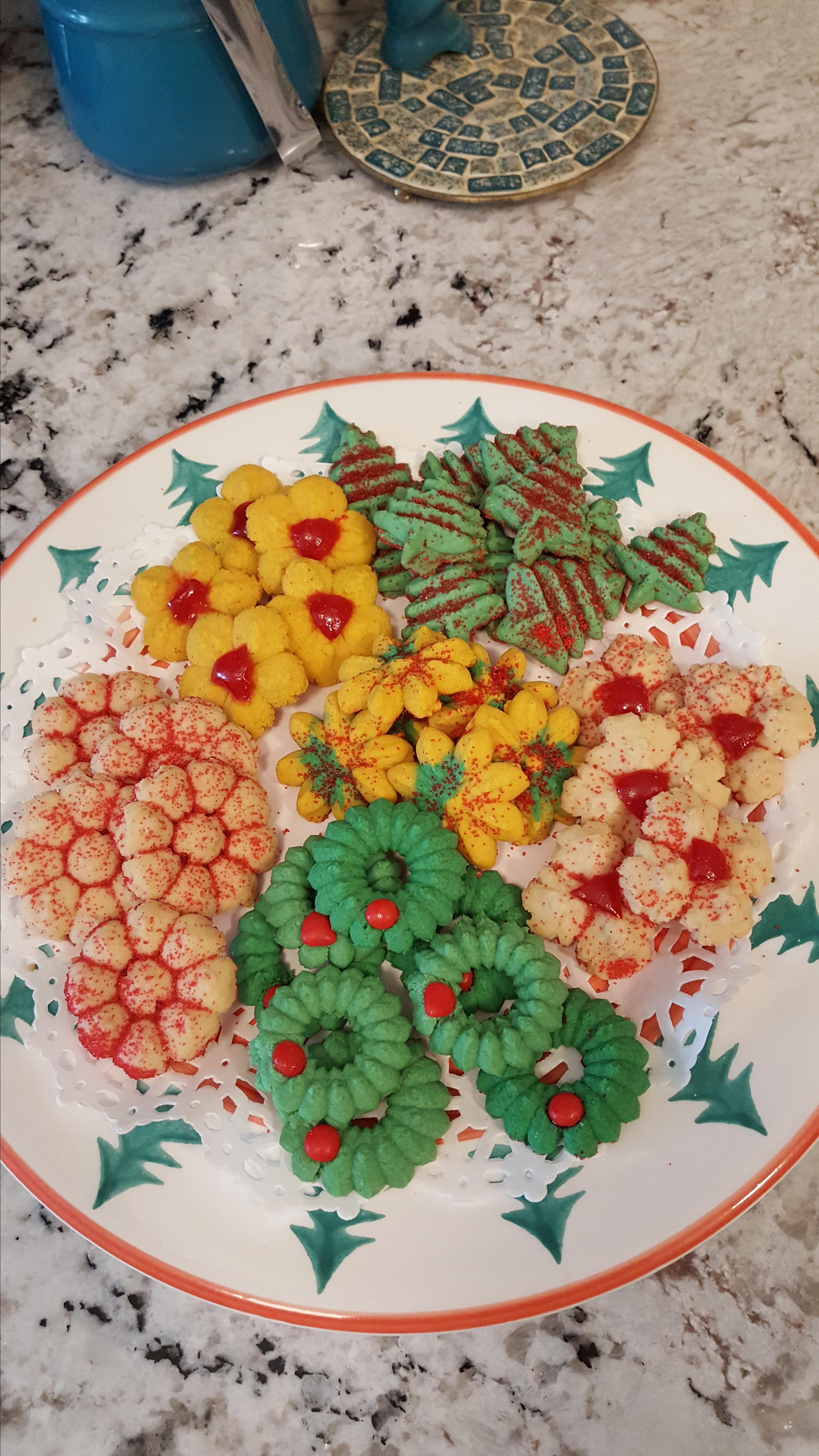 Great-Grandmas Swedish Spritz Recipe Gloria