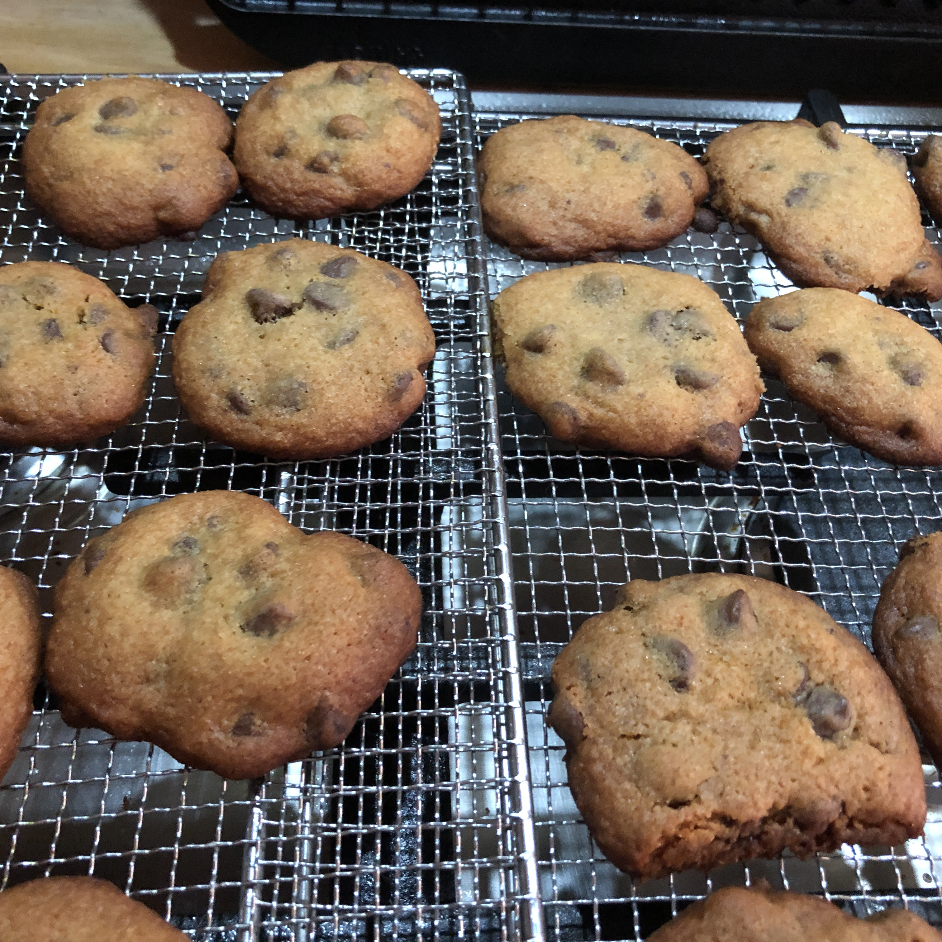 Fluffy Chocolate Chip Cookies Audra Marlow Bragg