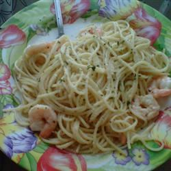Garlic Shrimp Pasta nikkig1118