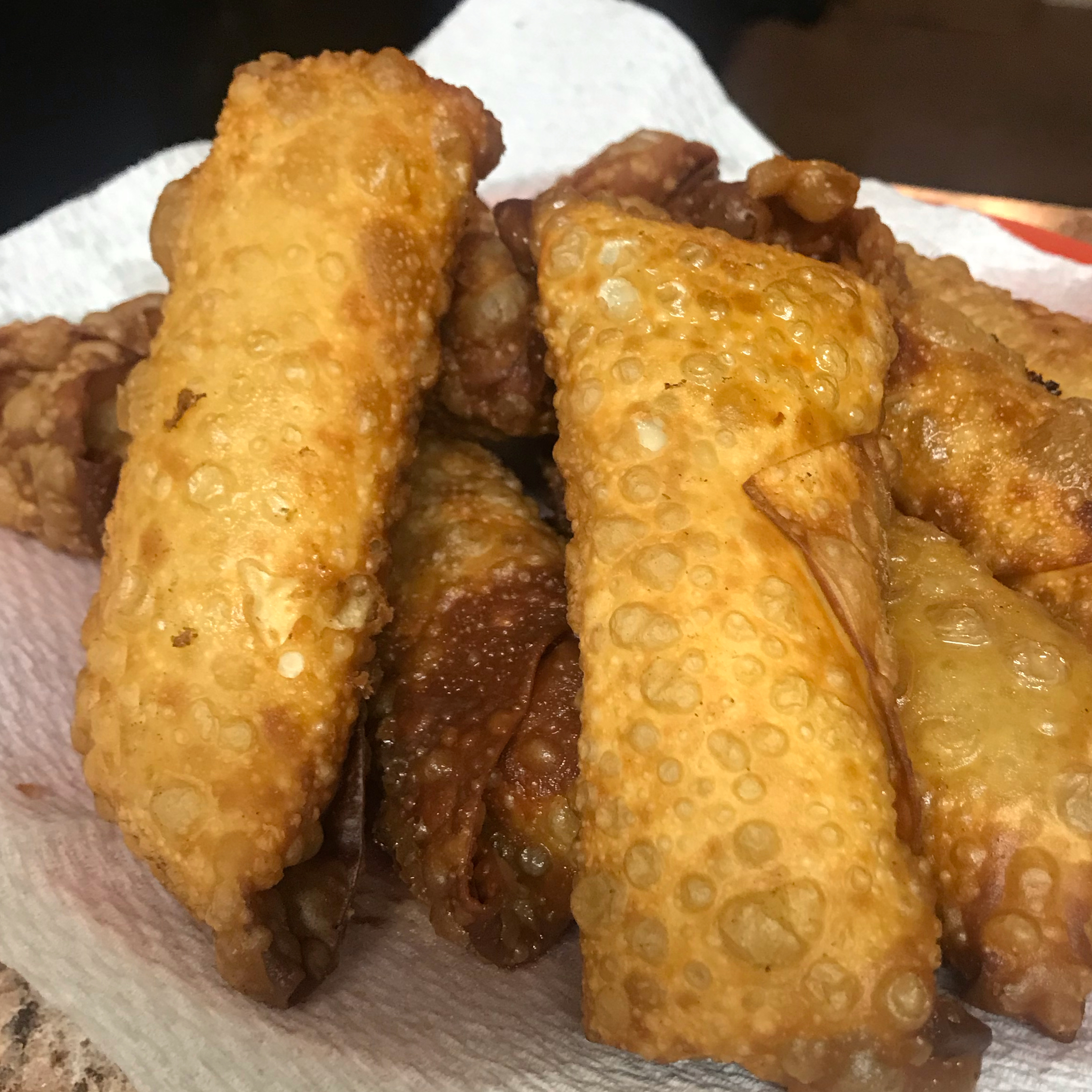 Steak and Cheese Egg Rolls