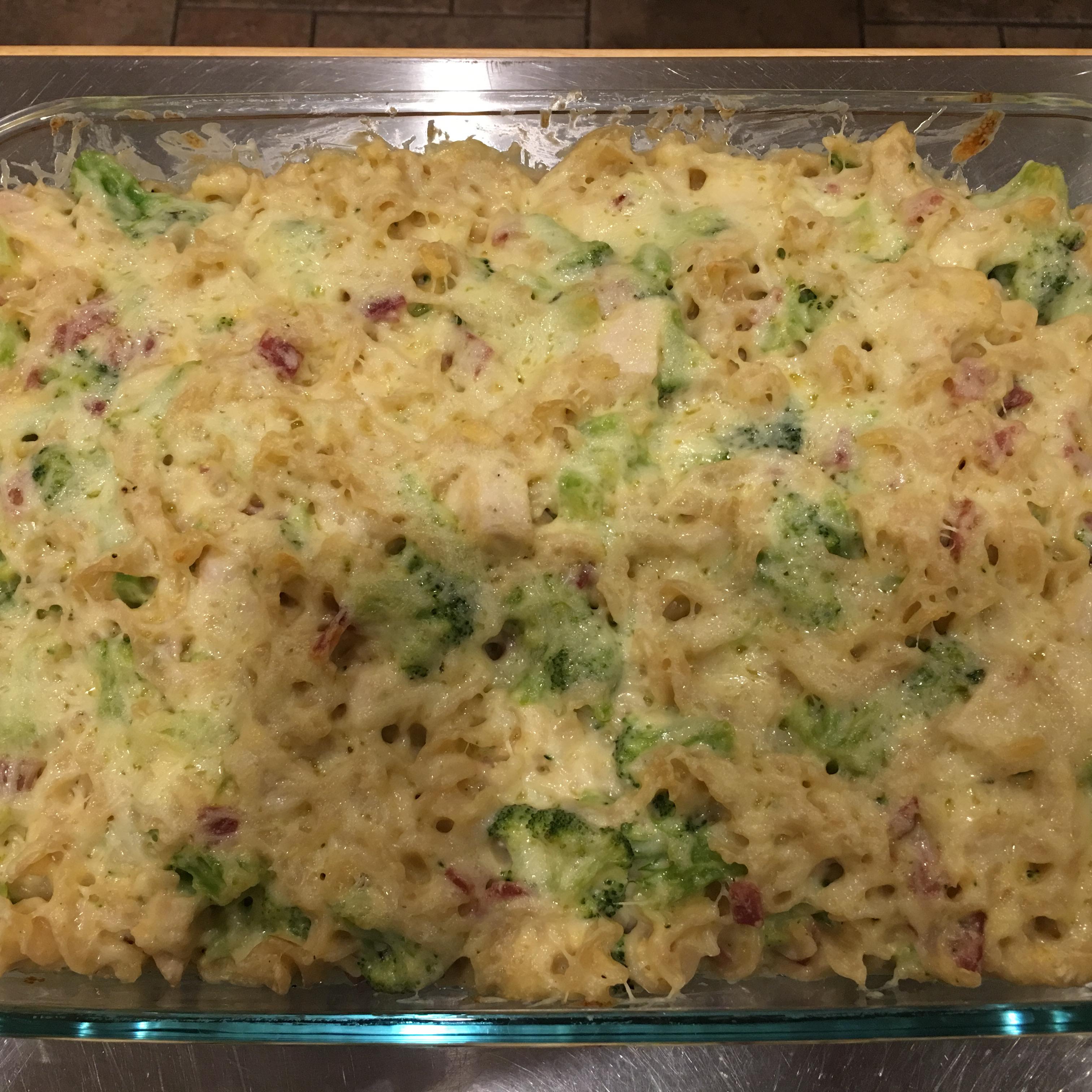 Pasta Broccoli Bake Es_caliente