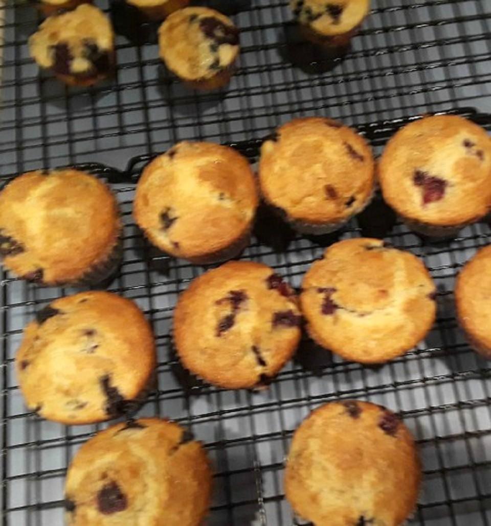 Blueberry Cream Muffins Susan-from-Georgia