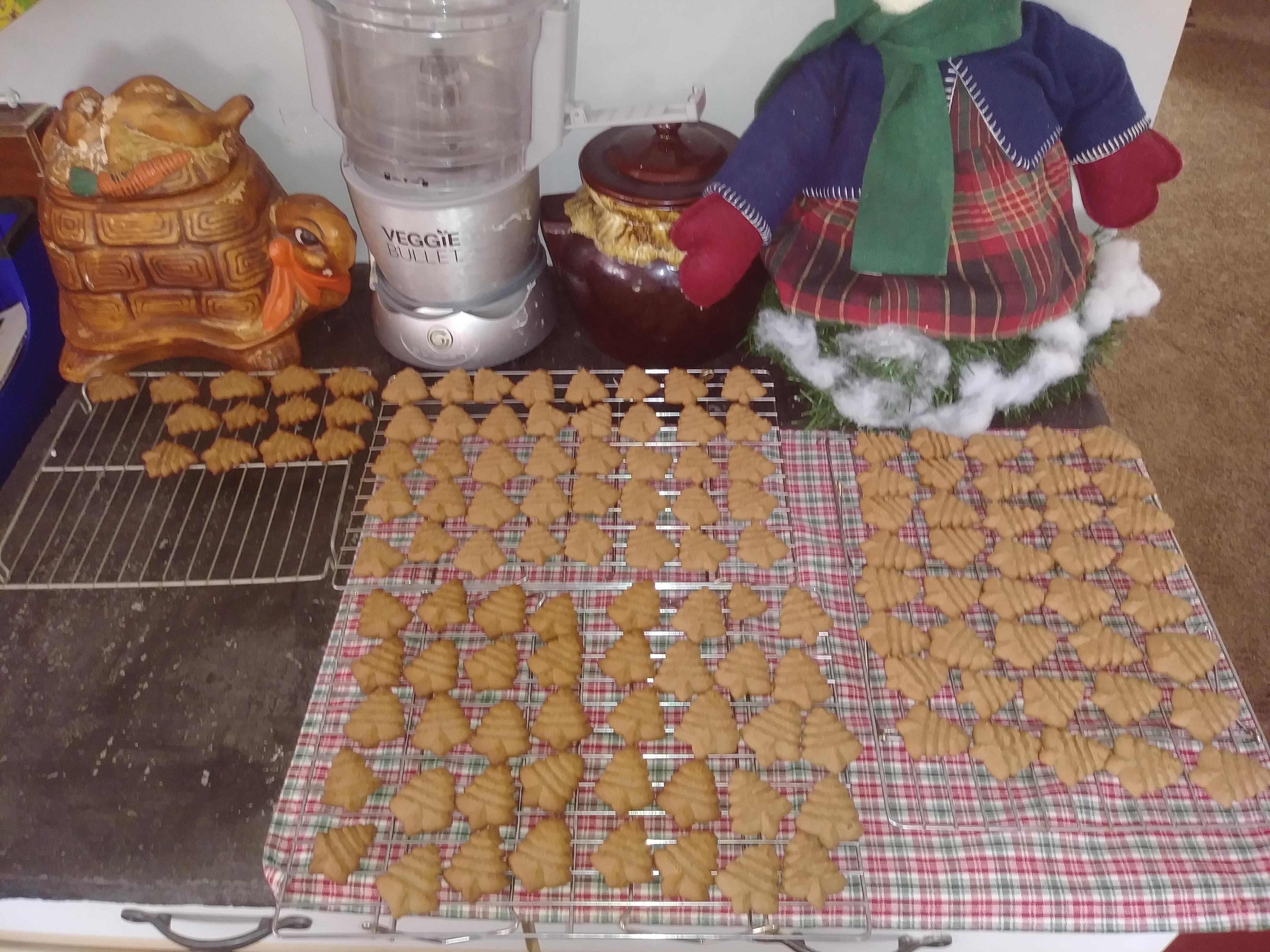 Chocolate Spritz (Cookie Press)