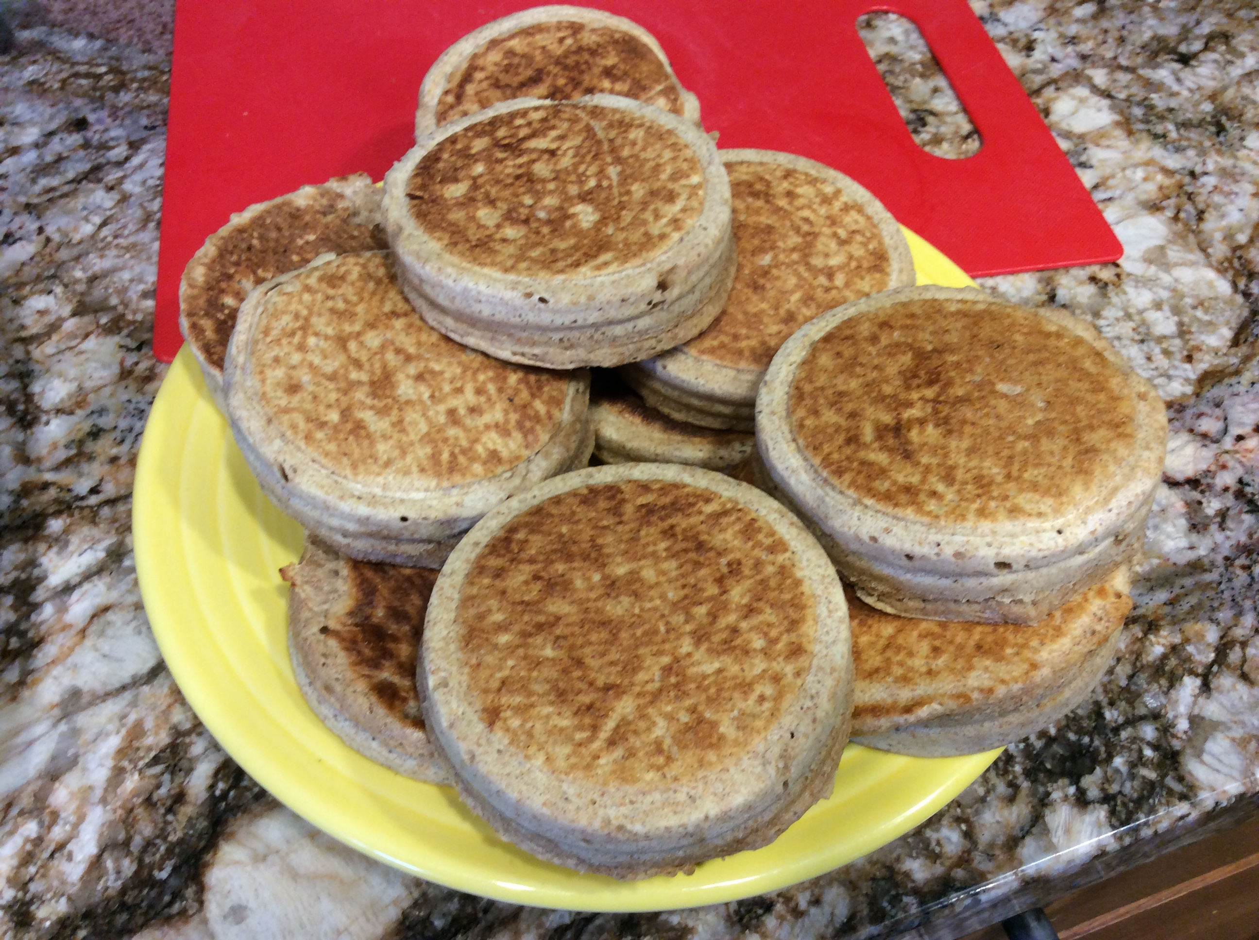 Whole Wheat Crumpets S Fred INSP