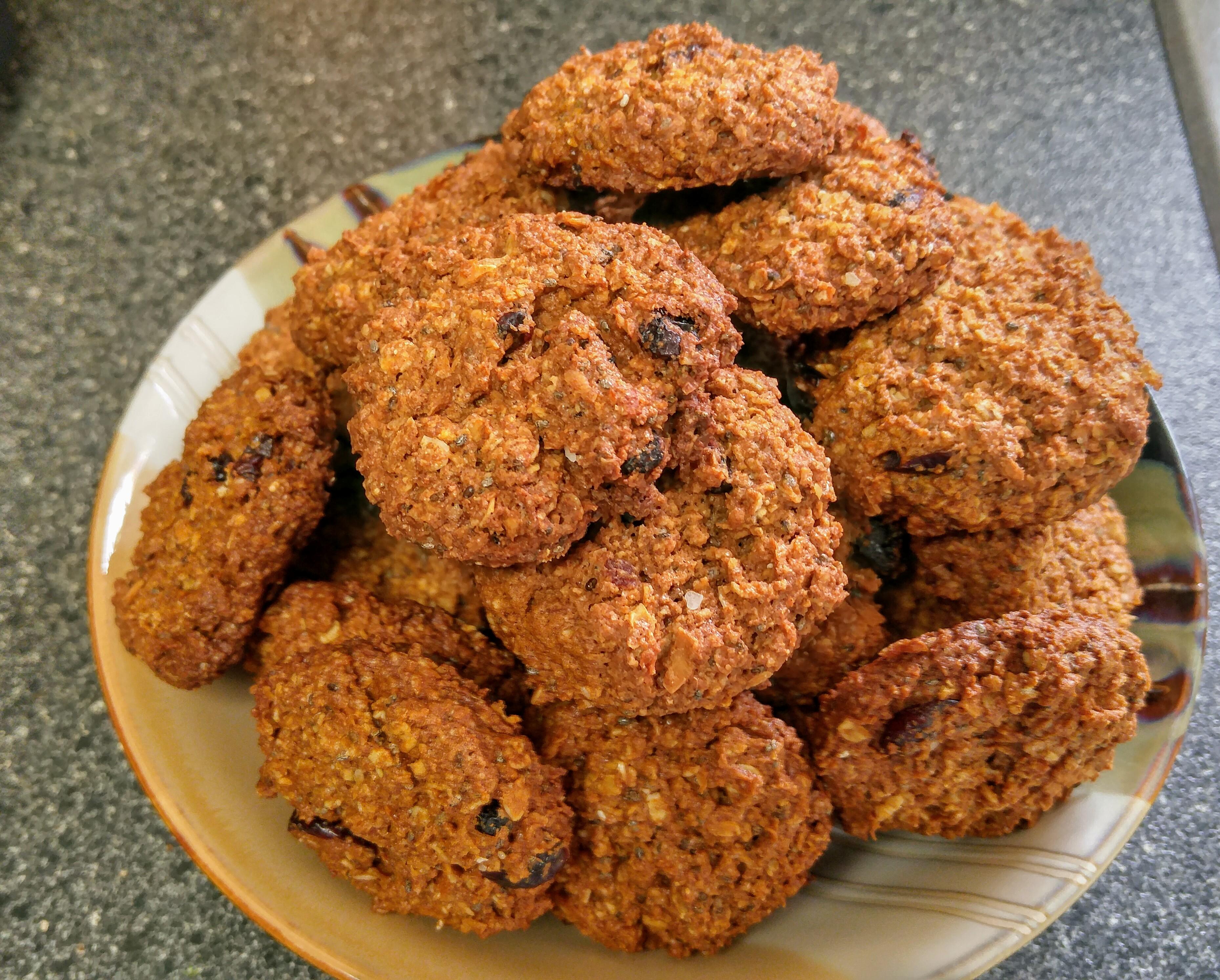 Oatmeal Chia Seed Cookies Island Girl