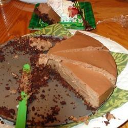 Irish Cream Chocolate Cheesecake