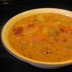 Chunky Tomato Potato Soup