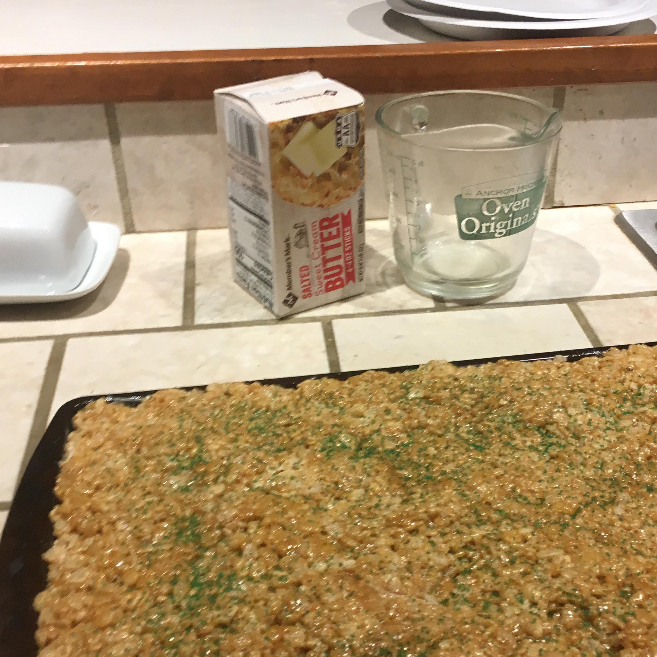 Caramel Crispy Rice Treats Libby Guthrie