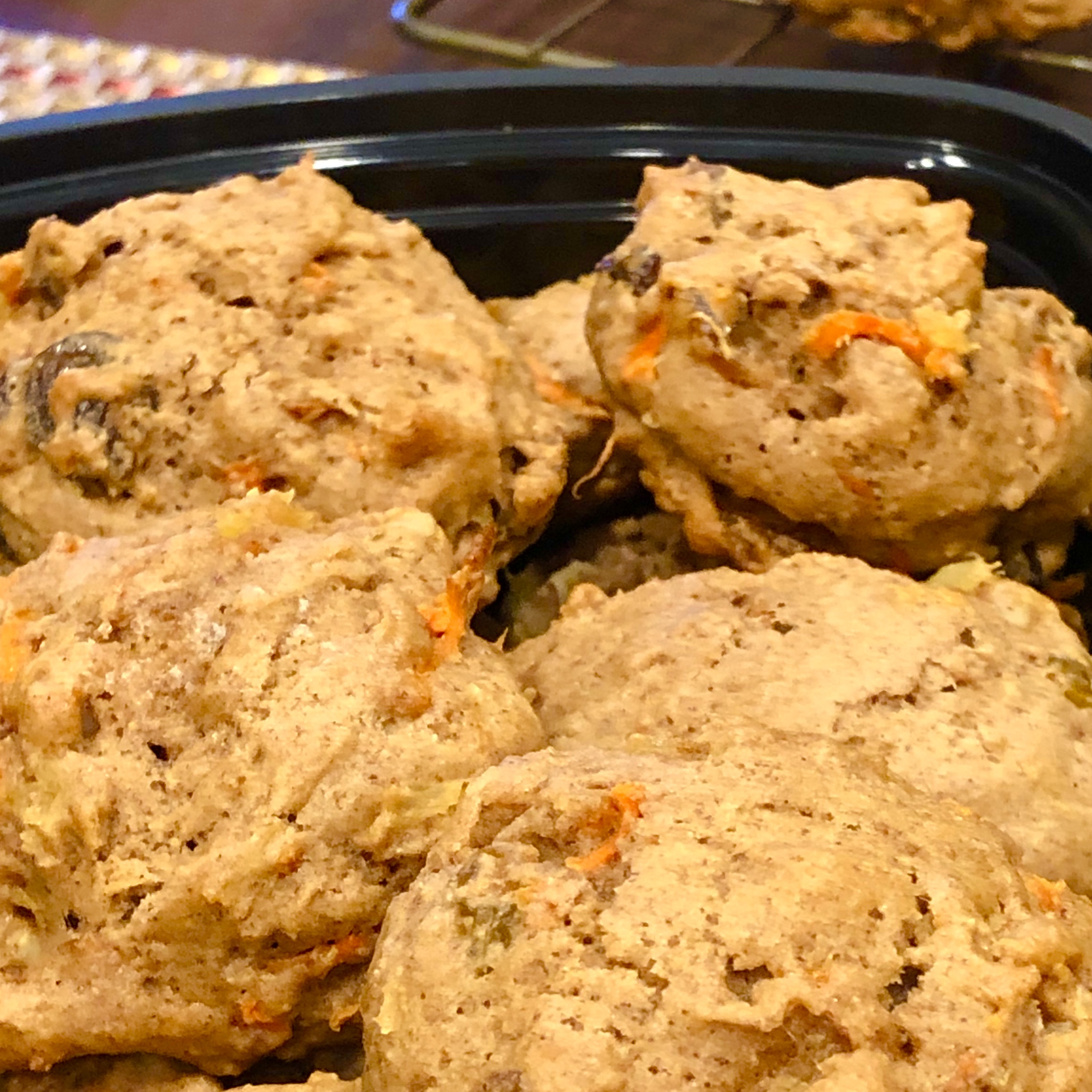 Carrot Cake Cookies Cindy Cipriano-Downing