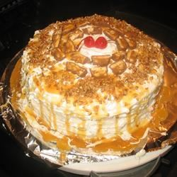 Chocolate Candy Bar Cake Phebe Mikell Thomas