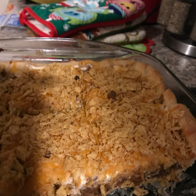 Quick Crescent Taco Pie
