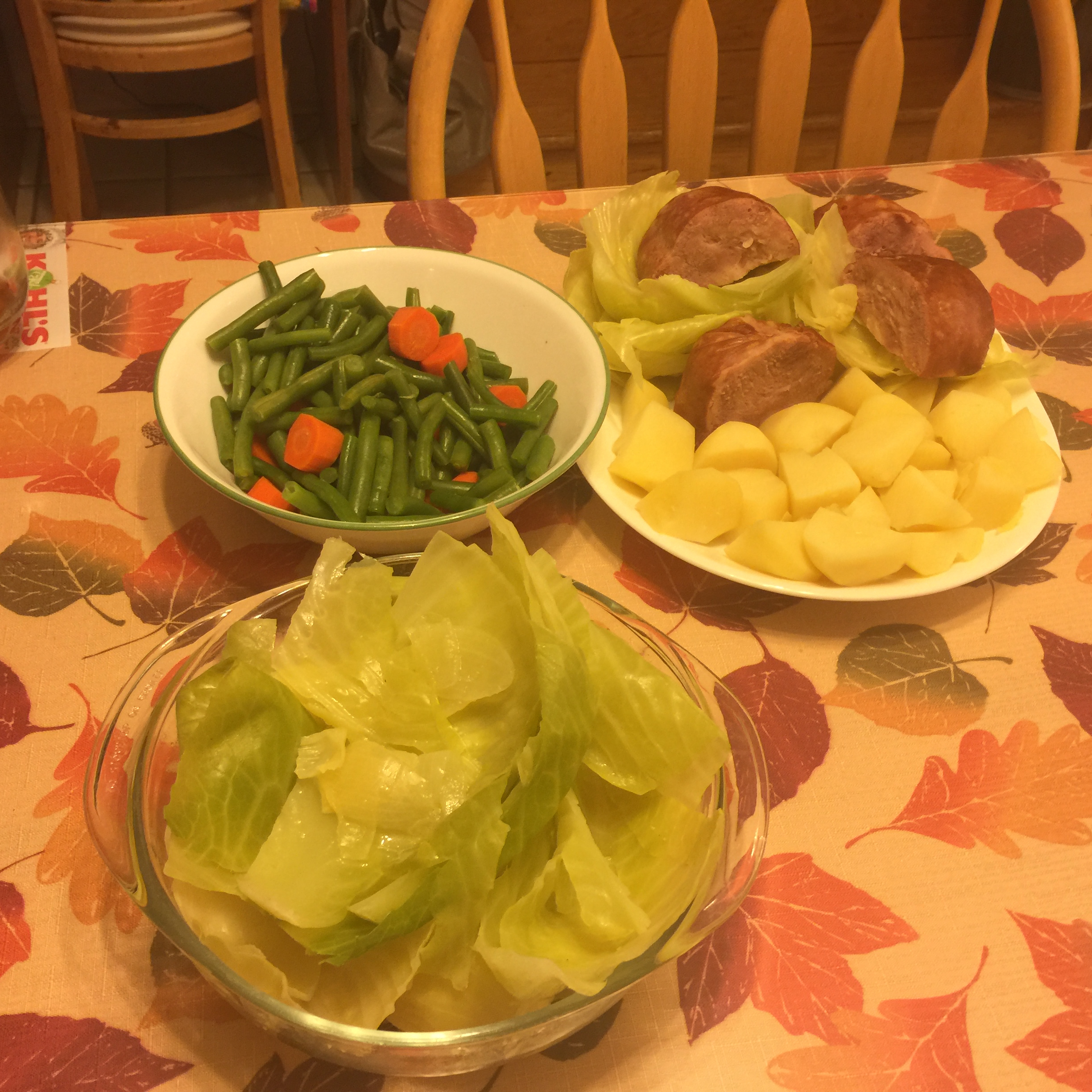 Dot's Ham, Cabbage, and Potatoes Kate