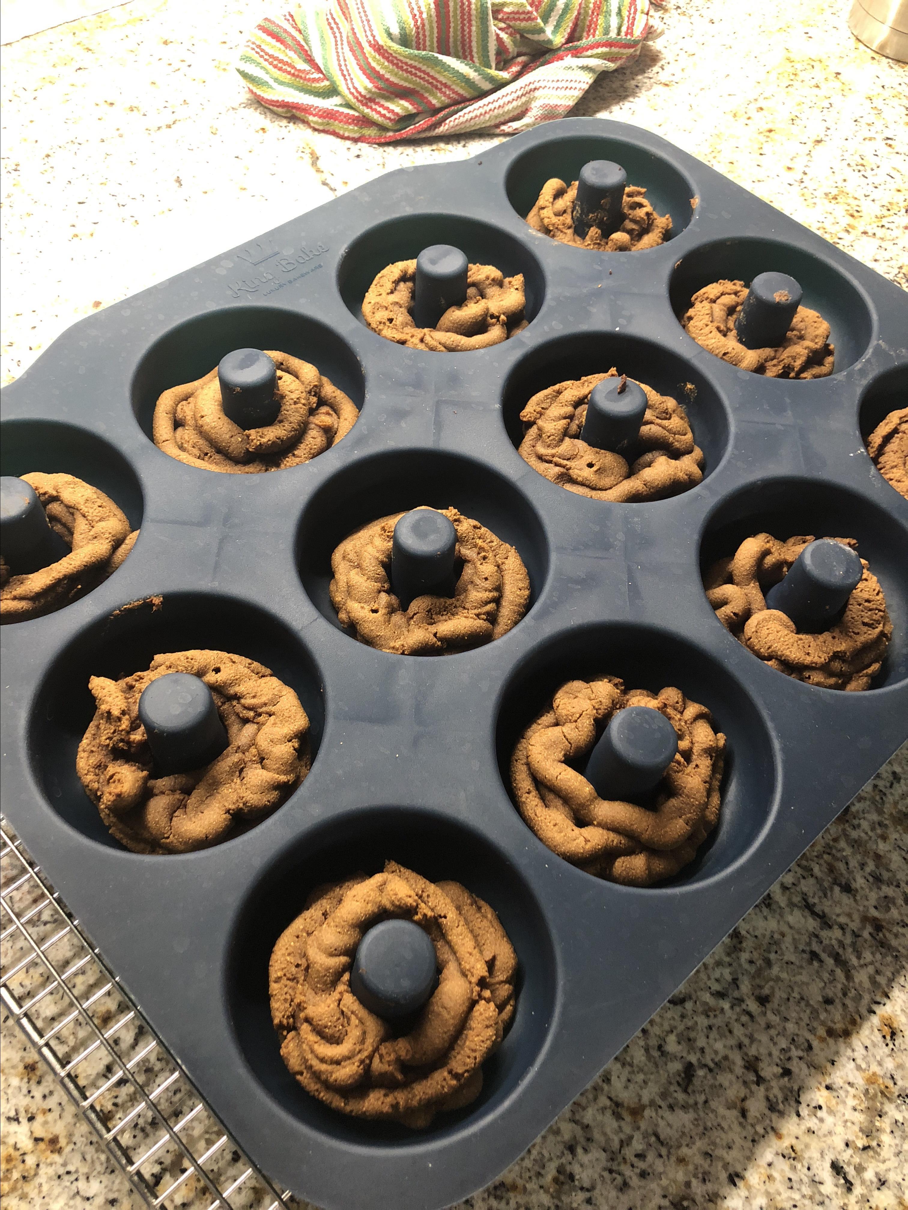 Paleo Gingerbread Mini Donuts zoodc