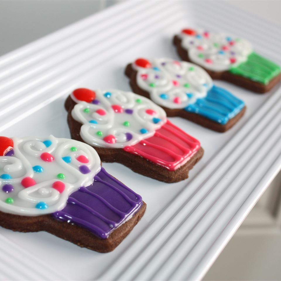 Chocolate Cut Out Cookies Robin J.