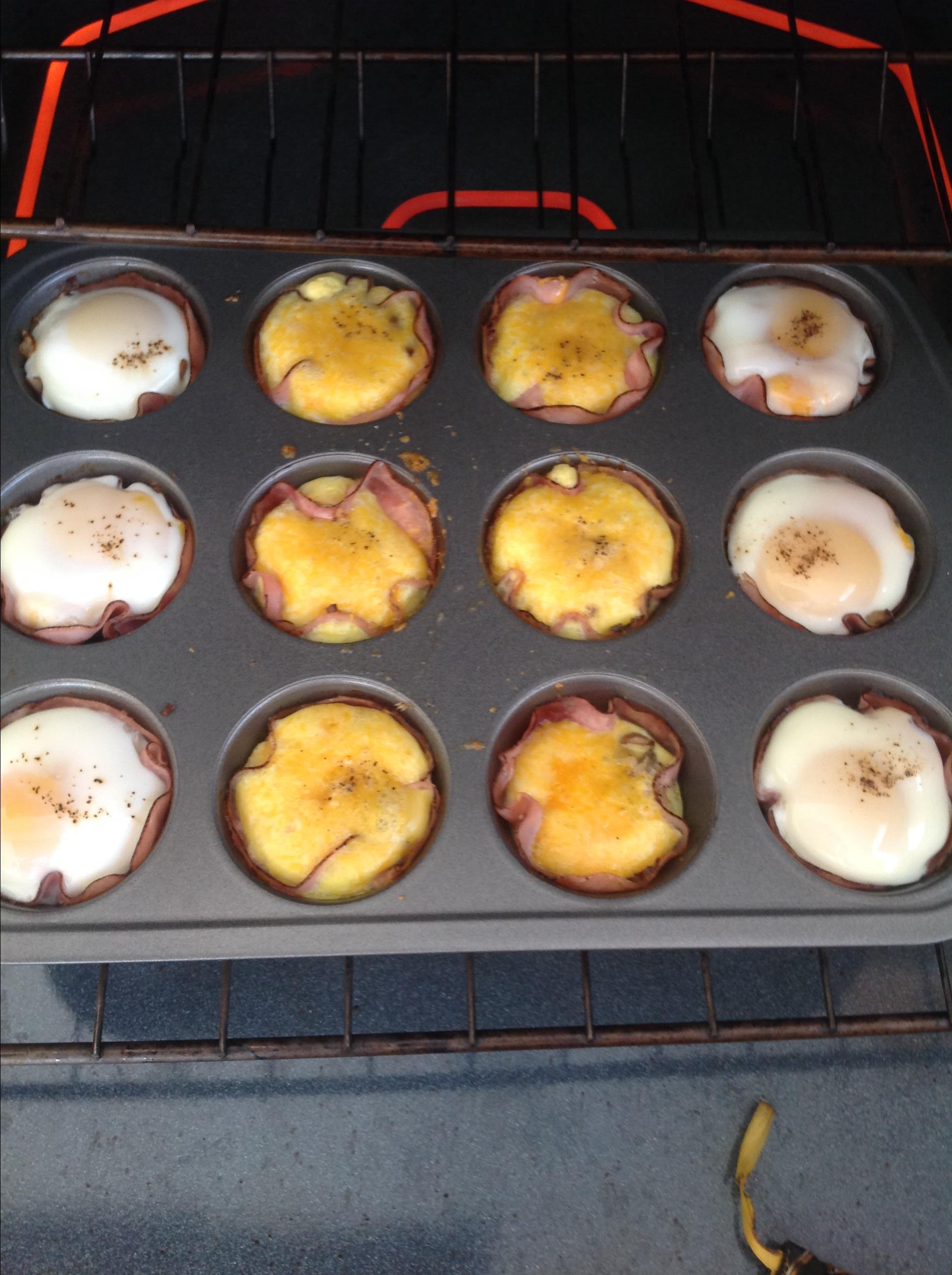 Breakfast Ham and Egg Cups Shari Kuzman