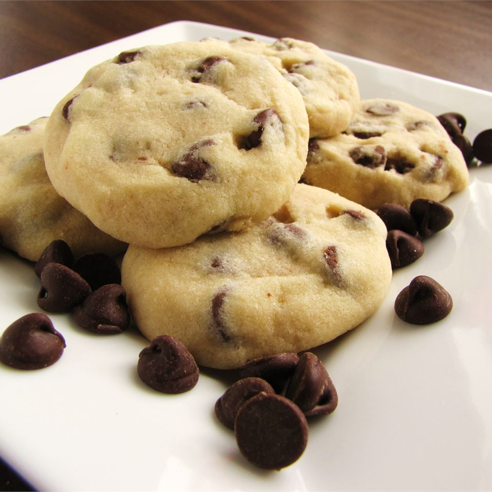 Tina's Shortbread Chocolate Chip Cookies