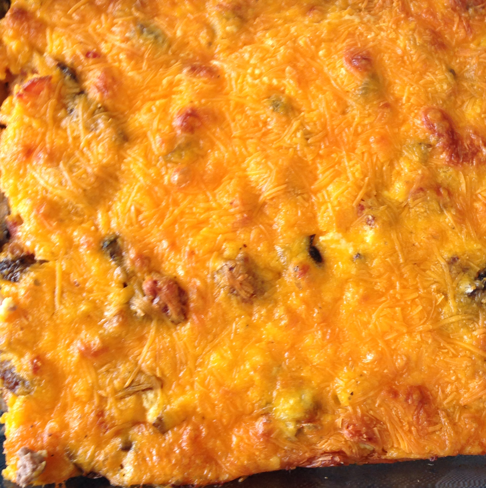 Low-Carb Bacon Cheeseburger Casserole Eric Engwall