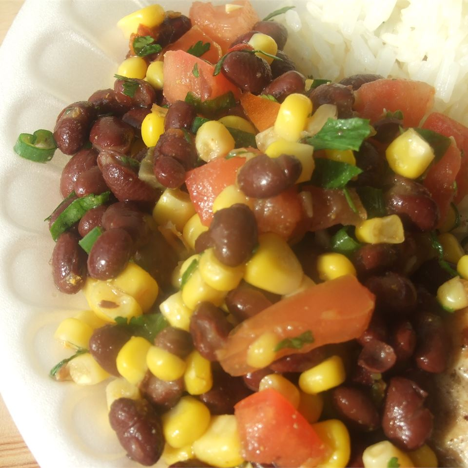 Summer Bean Salsa Foodie Family