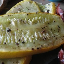 Grilled Yellow Squash mommyluvs2cook