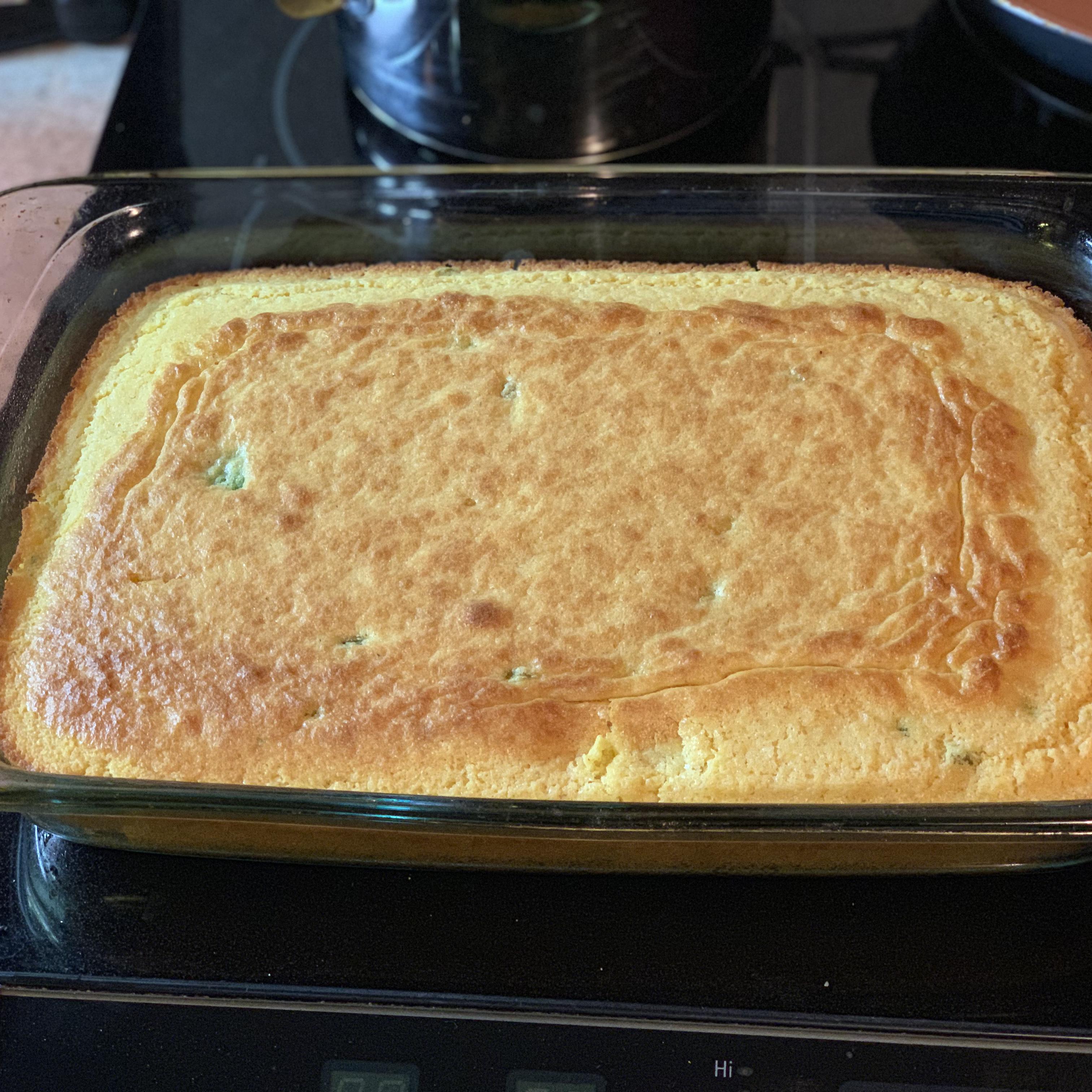 Sweet Jalapeno Cornbread