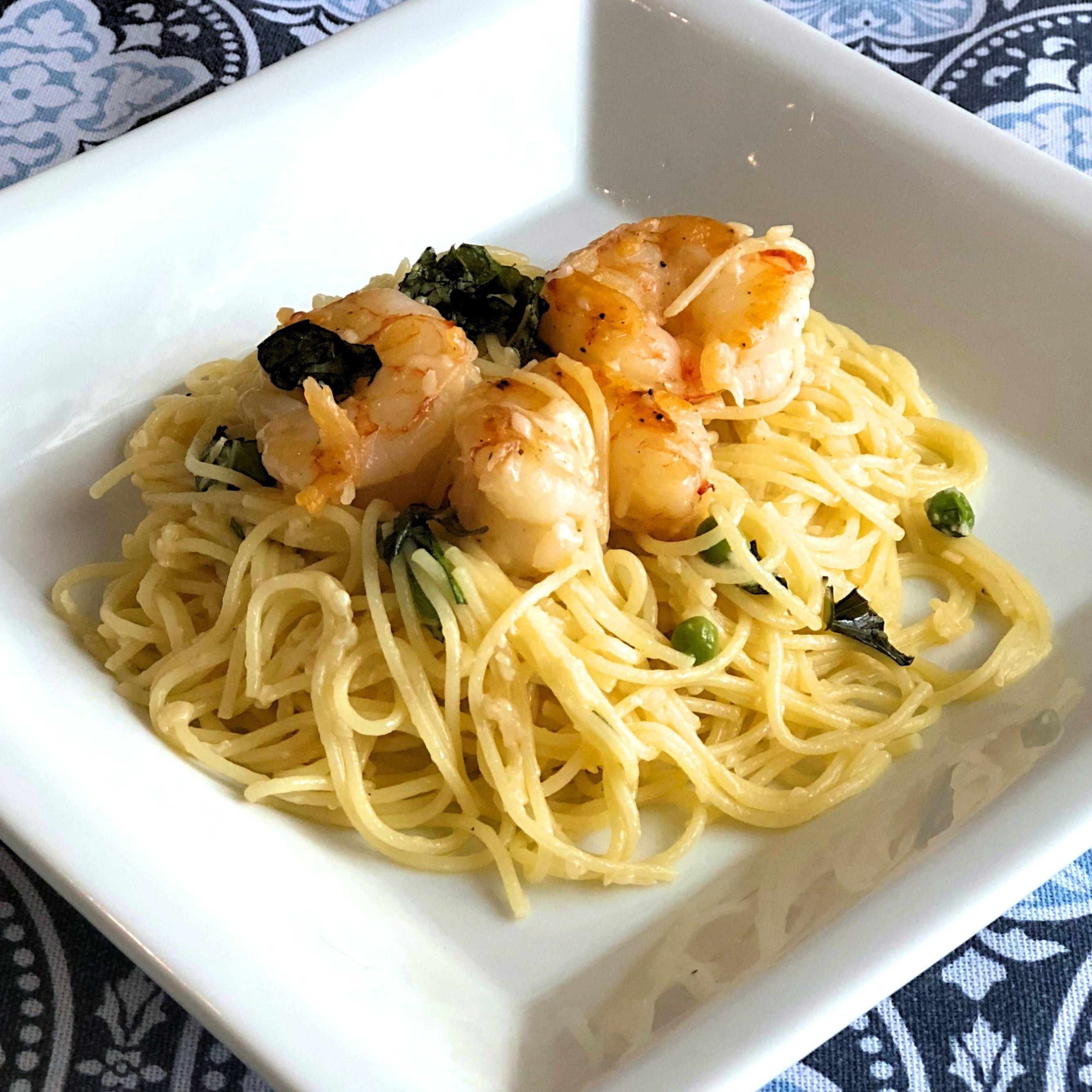 Last-Minute Lemon Spaghetti and Shrimp