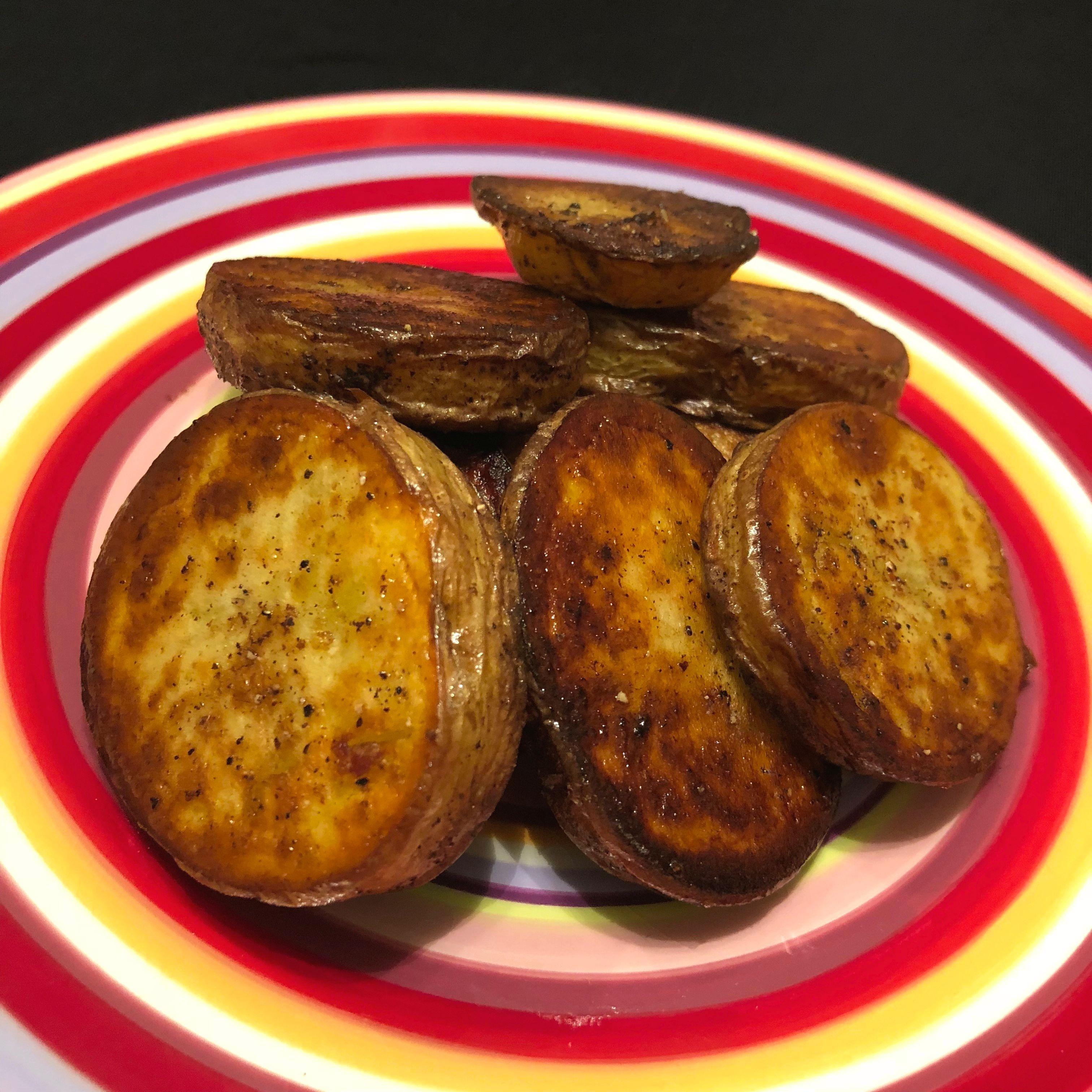 Instant Pot® Garlic Roasted Melting Potatoes Happyschmoopies