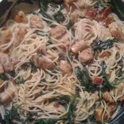 Spinach and Bacon Chicken kbvmcrae