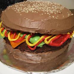 Hamburger Cake Jennifer N.