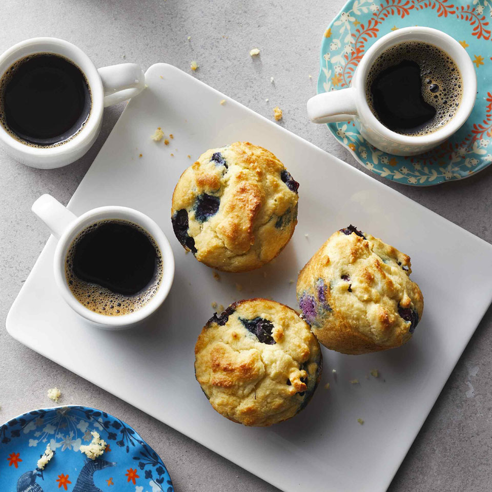 Low-Carb Blueberry Muffins Carolyn Casner