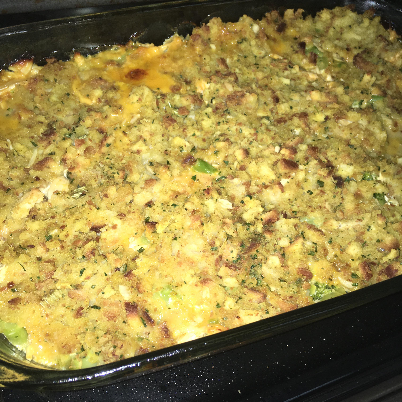 Cheesy Chicken & Broccoli Bake
