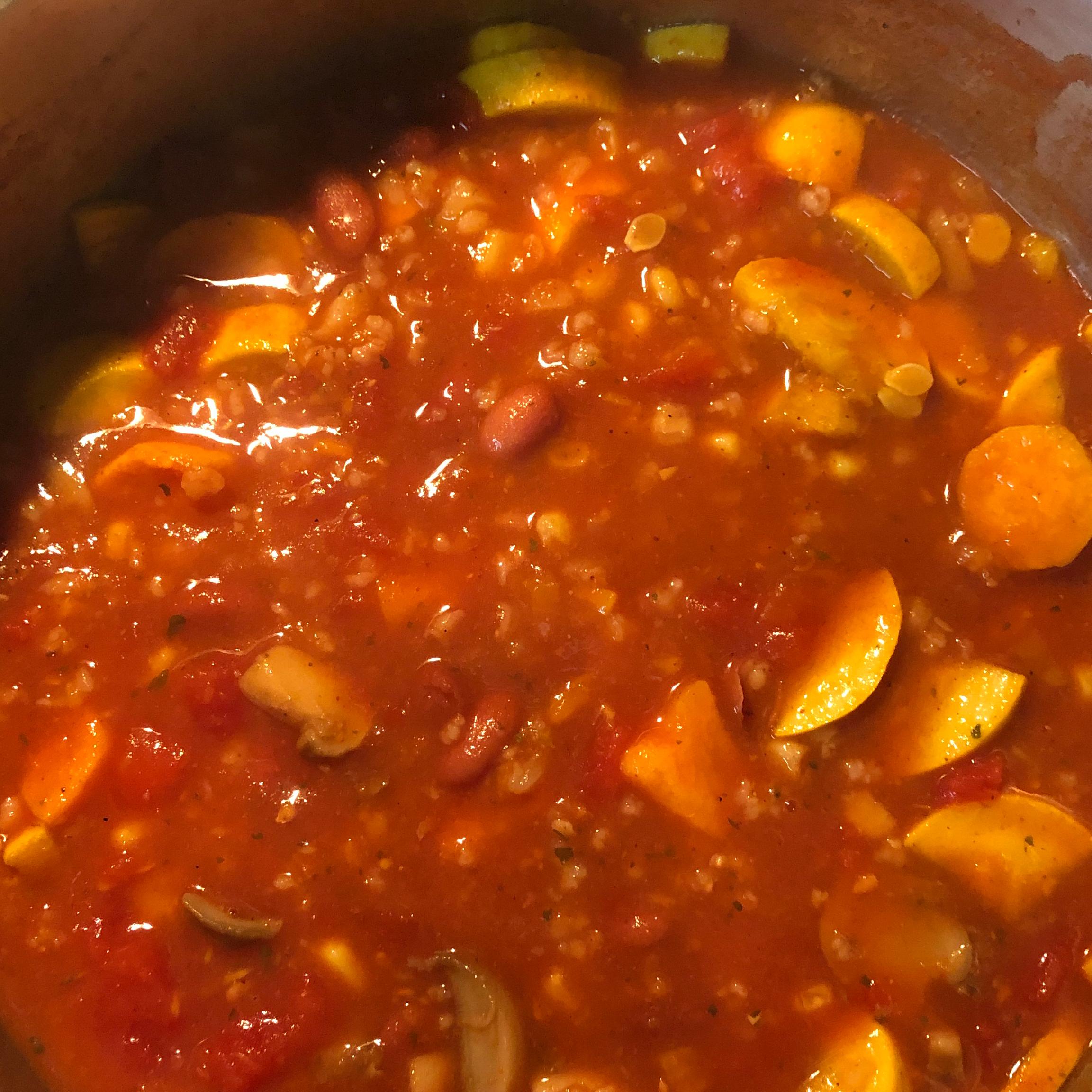 Vegan Sweet Potato Chili Wendy
