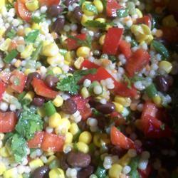 Black Bean and Couscous Salad happycooker