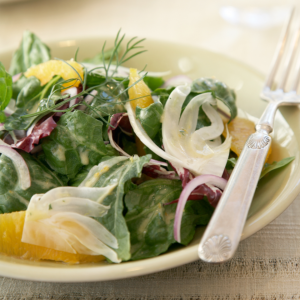 Orange & Fennel Salad with Citrus Vinaigrette Diabetic Living Magazine