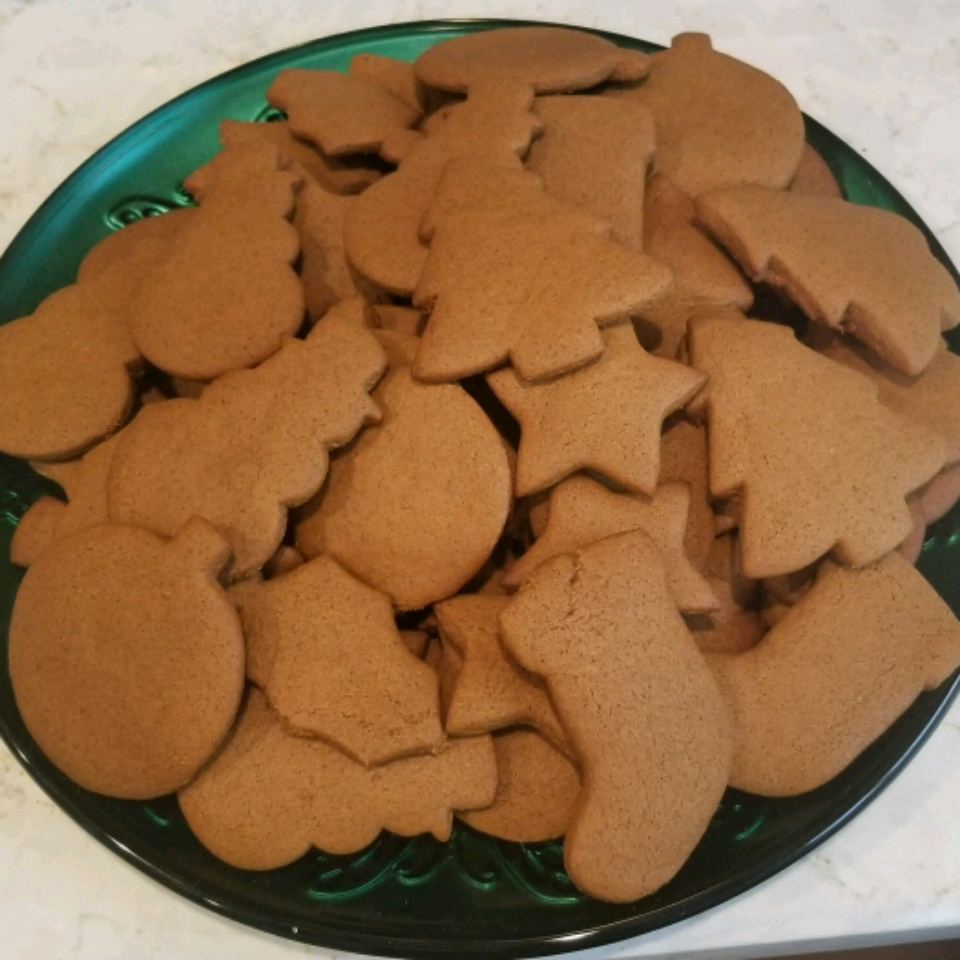 Christmas Molasses and Ginger Cookies