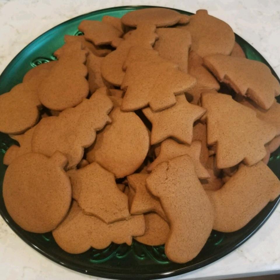 Christmas Molasses and Ginger Cookies Paola Fredericks