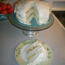 Pineapple Layer Cake Valerie