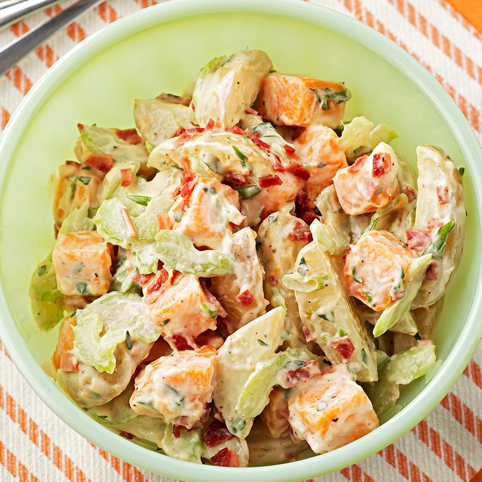 Two-Toned Potato Salad Diabetic Living Magazine