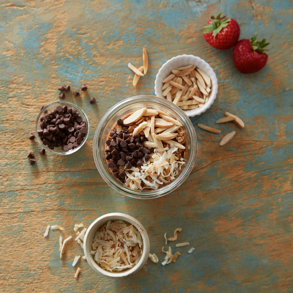 Joyful Chocolate Overnight Oats