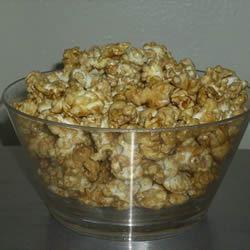 Microwave Caramel Popcorn Mo