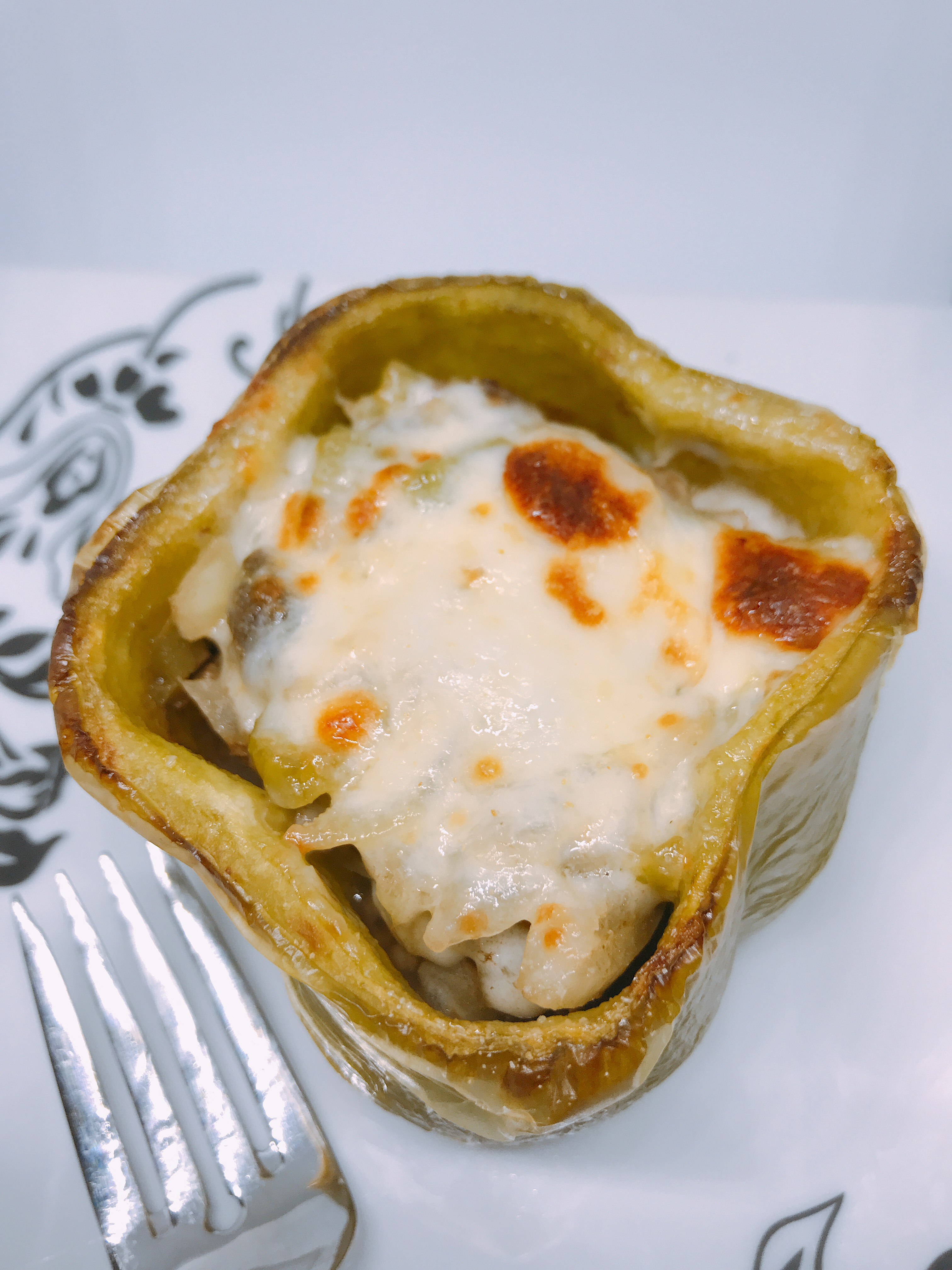 Instant Pot® Philly Cheesesteak Stuffed Peppers thedailygourmet