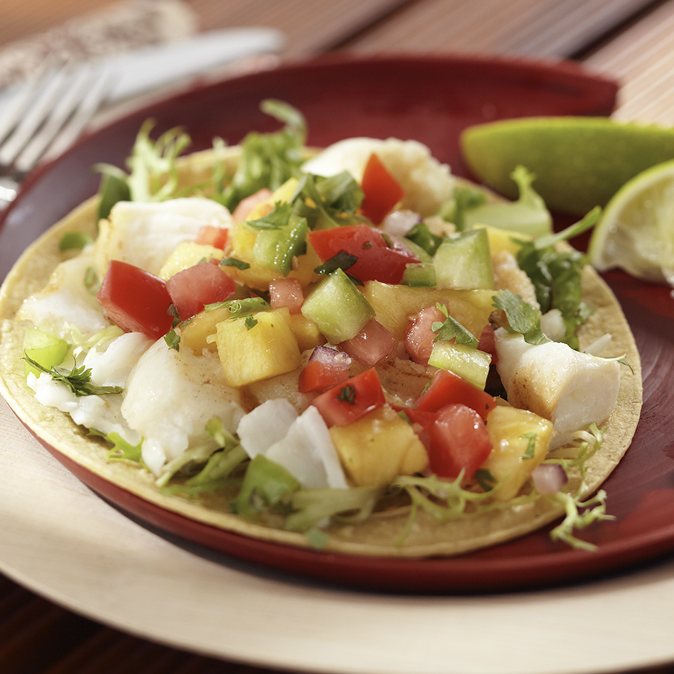 Grilled Fish Tacos with Pineapple Salsa Trusted Brands