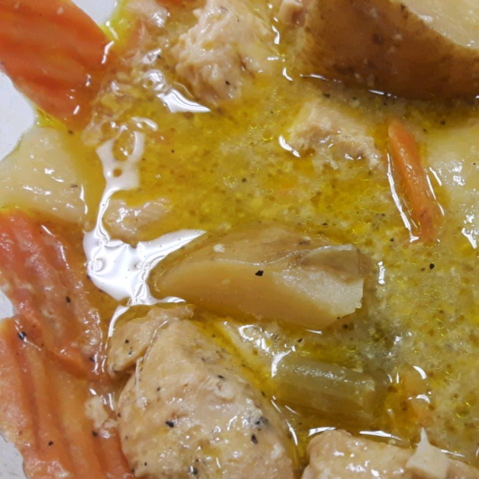Slow Cooker Chicken Pot Pie Stew