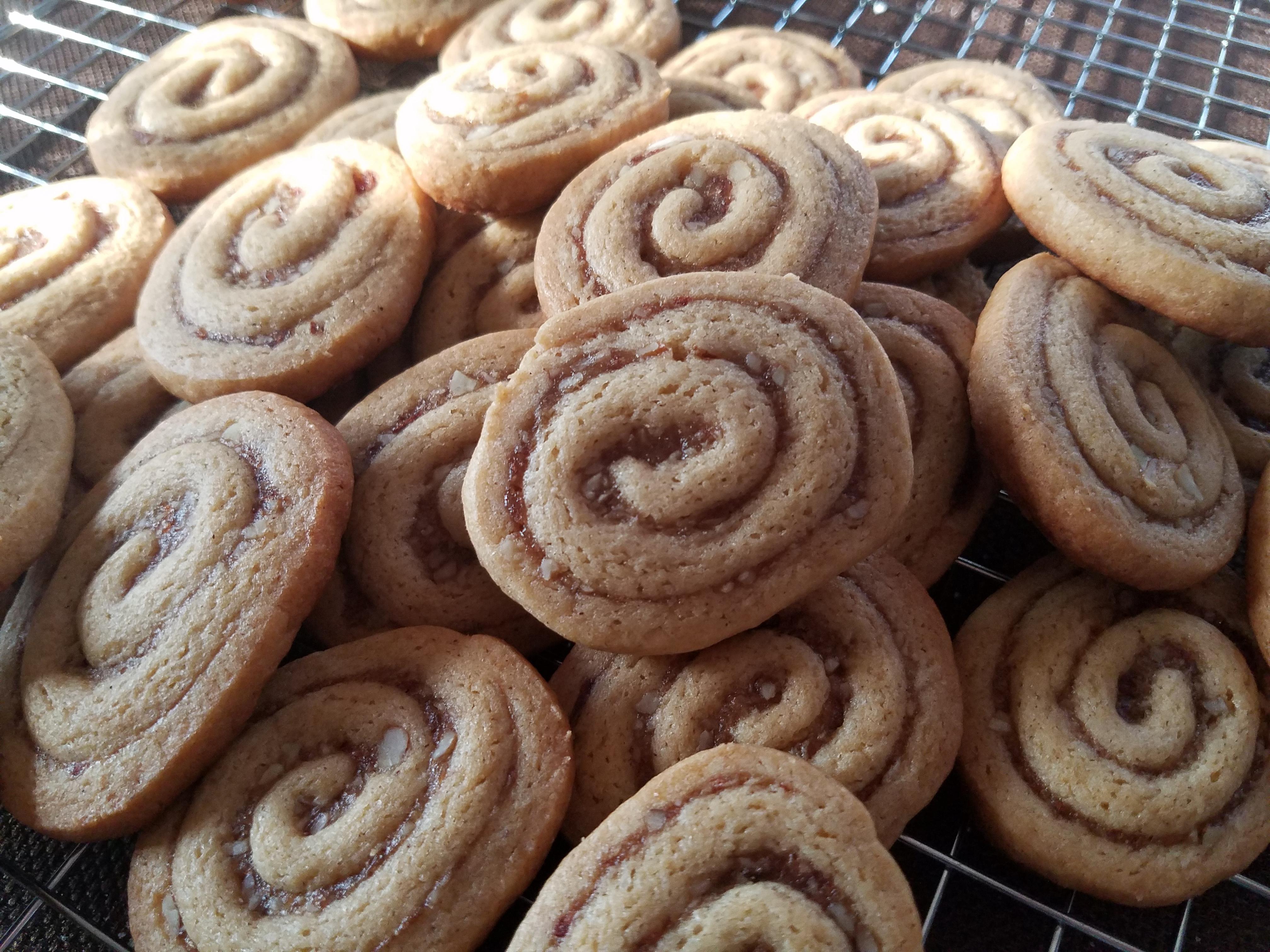 Date Nut Pinwheel Cookies II Heidi Bliss
